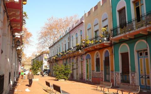 Barrio reus de los judos turismo judaico uruguay for Barrio ciudad jardin sur bogota